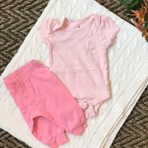 Pink outfit, 0-3M